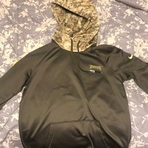 100% authentic 5071b c7714 2017 Nike NFL Military Appreciation Eagles Jacket